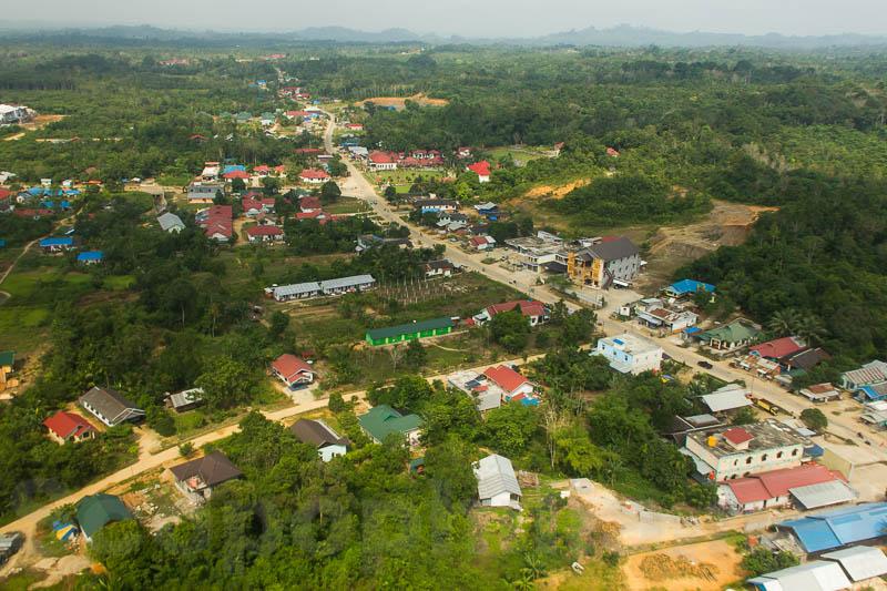 Puruk Cahu ibu kota kabupaten yang sedang menggeliat