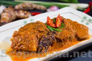 Asam Pedas Daging dari Minang