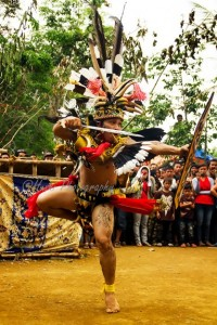 War Dance - Dayak - Central Borneo